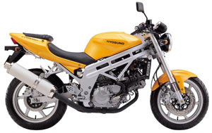 (CD) Manual Book Hyosung GT650  (2003)