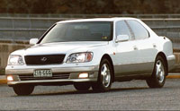 (CD) Manual Book Lexus LS400
