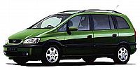 (CD) Service Manual Opel Zafira (1998-2000)